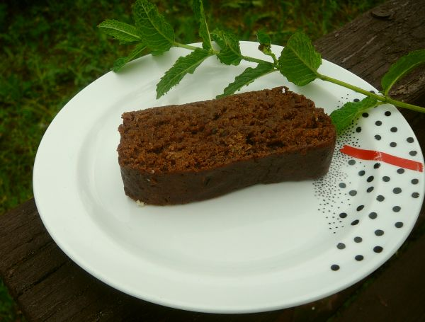 ciasto wegańskie z miętą