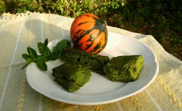 wytrawny placek z ziołami