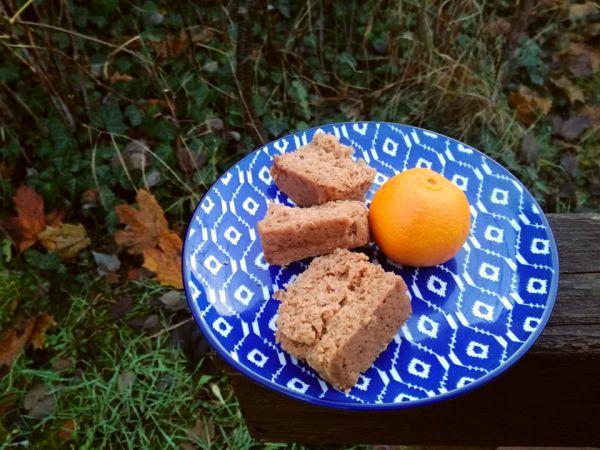 piernik marchewkowy z mandarynką