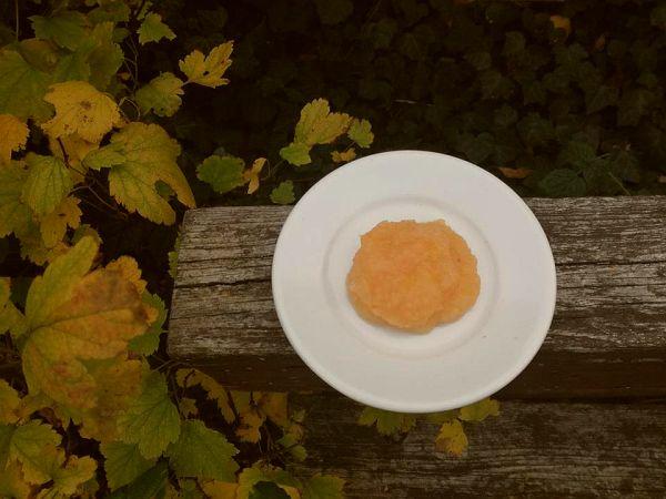 mus jabłkowo-gruszkowy z pigwą i pomarańczą