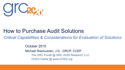 2015-10 How to Purchase Audit Solutions