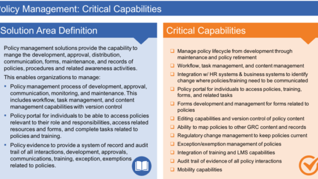 Policy Capabilities