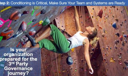 Step 2: Conditioning is Critical, Make Sure Your Team and Systems are Ready for 3rd Party GRC