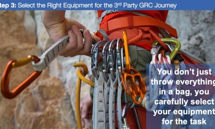 Step 3: Select the Right Equipment for the 3rd Party GRC Journey