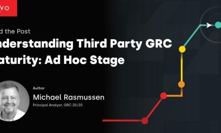 Understanding Third Party GRC Maturity: Ad Hoc Stage