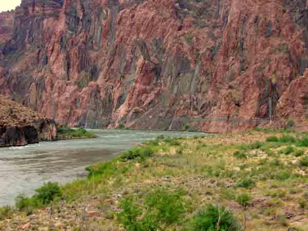 Bridge Canyon Phantom Ranch Over Grand Suspension