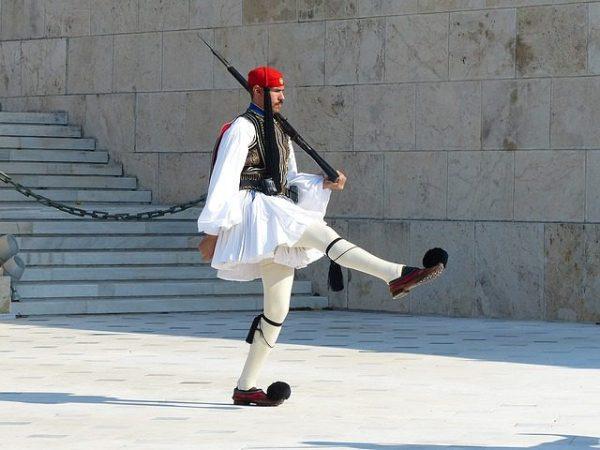 OVI VOJNICI SU PONOS I SIMBOL GRČKE