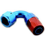 – 6 Aluminum Swivel Hose End 120 Deg.