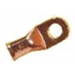 Copper Lug 1/2″ Hole for 2 Gauge Wire
