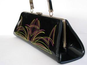 vintage handbags, rockabilly, vintage, purse, fashion, style, burlesque, retro, 60s, vinyl, 50s, fifties, 1960s, 1950s, handbag, purses, pocketbook, pinstripe, pin striped, pin-stripe, pin-striper,