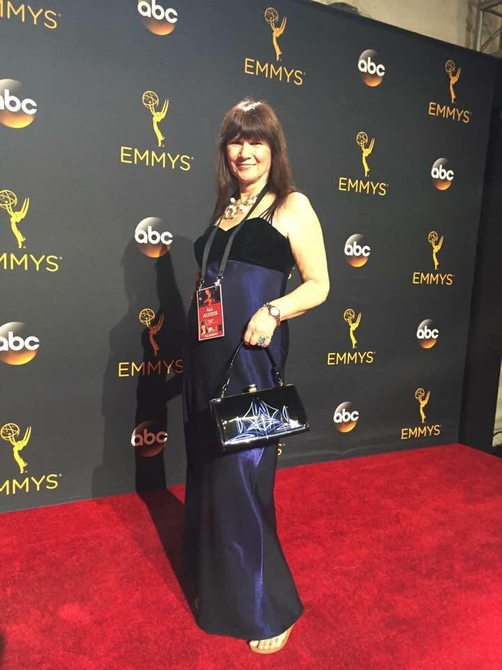 vintage handbag, grease and grace, emmys 2016, television academy, hollywood, old hollywood, style, fashion, gatsby, rockabilly, 50s 40s, 30s, 20s, classy, purse, handbag, retro