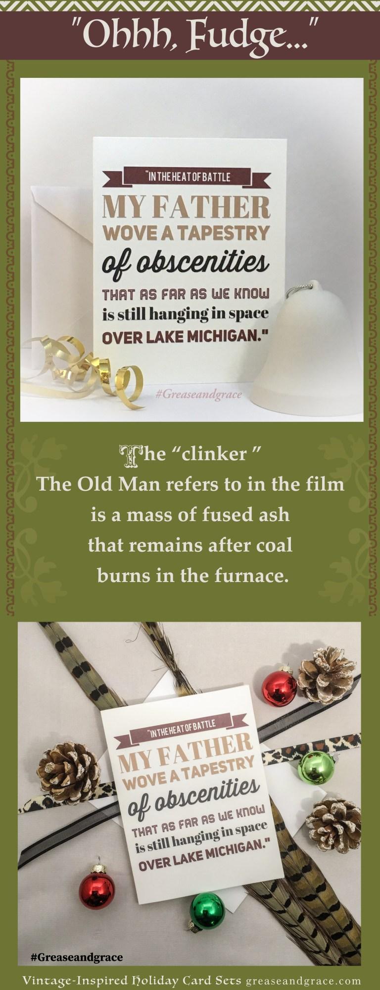 a christmas story christmas card