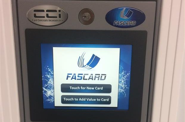 Fascard machine
