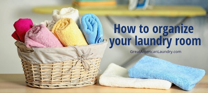 How to organize your laundry room