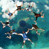 Great Atmosphere – Skydiving at the Great Blue Hole