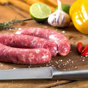 Calabrian Sausage with a hint of chilli
