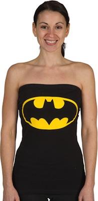 Batman Logo Tube Top t-shirt