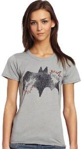 womens Batman logo t-shirt