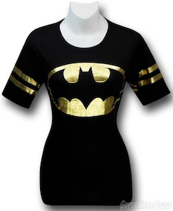 Batman Gold Foil Athletic T-Shirt