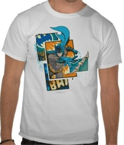 Great Batman action t-shirt