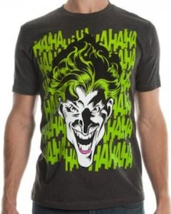the Joker Laughing T-Shirt