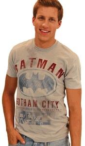 Batman Gotham City logo t-shirt