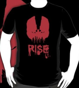 Red Bane Face Rise T-Shirt