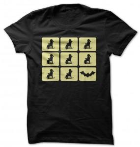 Nana Silhouette Batman T-Shirt