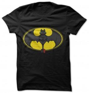 Toothless Is Batman T-Shirt