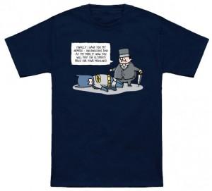 Penguin Has His Nemesis T-Shirt