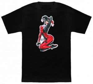 Harley Quinn Kneeling Pose T-Shirt