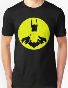 Batman Yellow Circle Logo T-Shirt