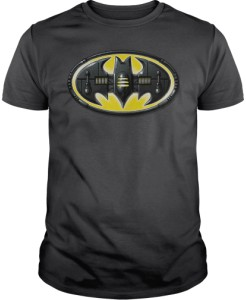 Batman Mechanical Bat Logo T-Shirt