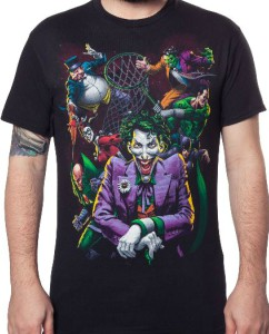 Riddler Adult T-Shirt All Sizes Penguin ORIGINAL GANGSTERS Catwoman