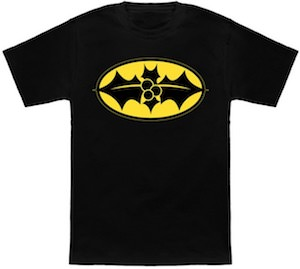 Batman Christmas Logo T-Shirt