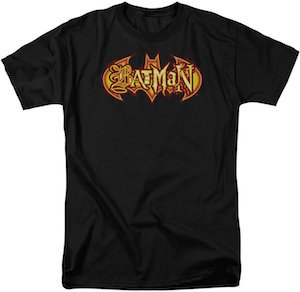 Batman Fiery Logo T-Shirt