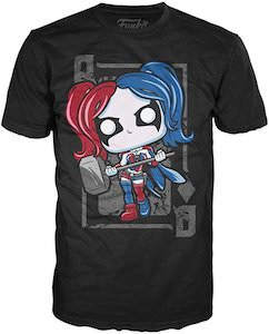 Harley Quinn Pop Figurine T-Shirt
