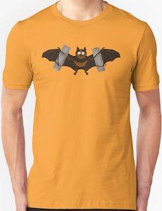 Taped Bat Logo T-Shirt