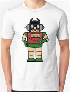 Robin The Robot T-Shirt