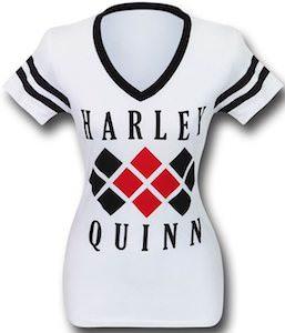 Women's White Harley Quinn T-Shirt