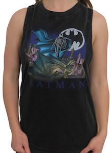 Lunar Night Women's Batman Tank Top