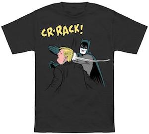 Batman Slaps Donald Trump T-Shirt