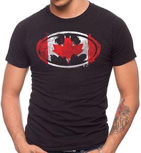 Canadian Batman Logo T-Shirt