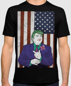 President Trump As The Joker t-shirt