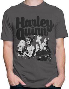 Harley Quinn Cemetery T-Shirt