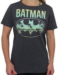 Women's Batman Beach Logo T-Shirt