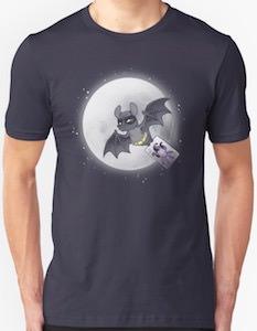 Bat Flying The Joker T-Shirt