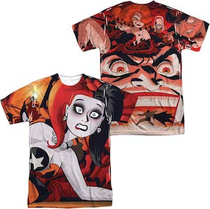 Harley Quinn And Villains T-Shirt