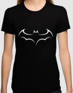 Batman Smooth Logo T-Shirt