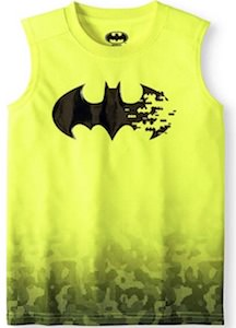Batman Logo Yellow Tank Top